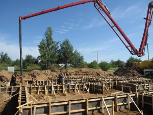 betonavimo darbai